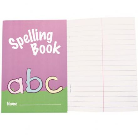 IVY STATIONERY KIDS SPELLING BOOK